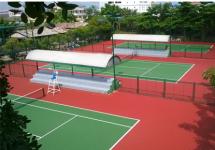 sóc trăng   sơn sân tennis (3 sân) trung tâm vh tt tỉnh sóc trăng